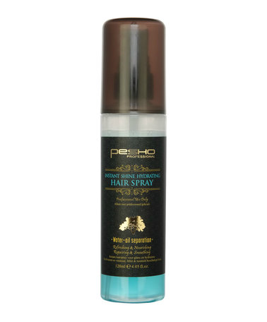 Pesho instant shine hydrating hairspray 120ml