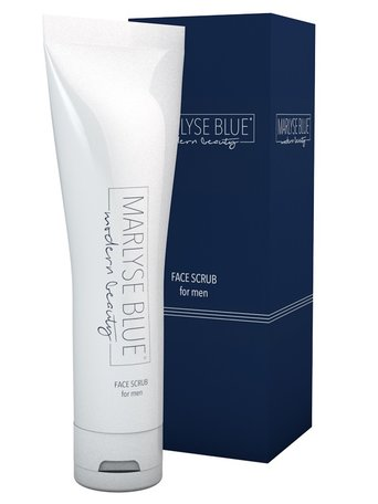 Marlyse Blue Face Scrub for men