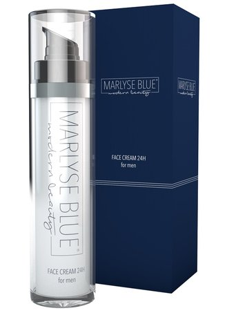 Marlyse Blue Face Cream 24H for men